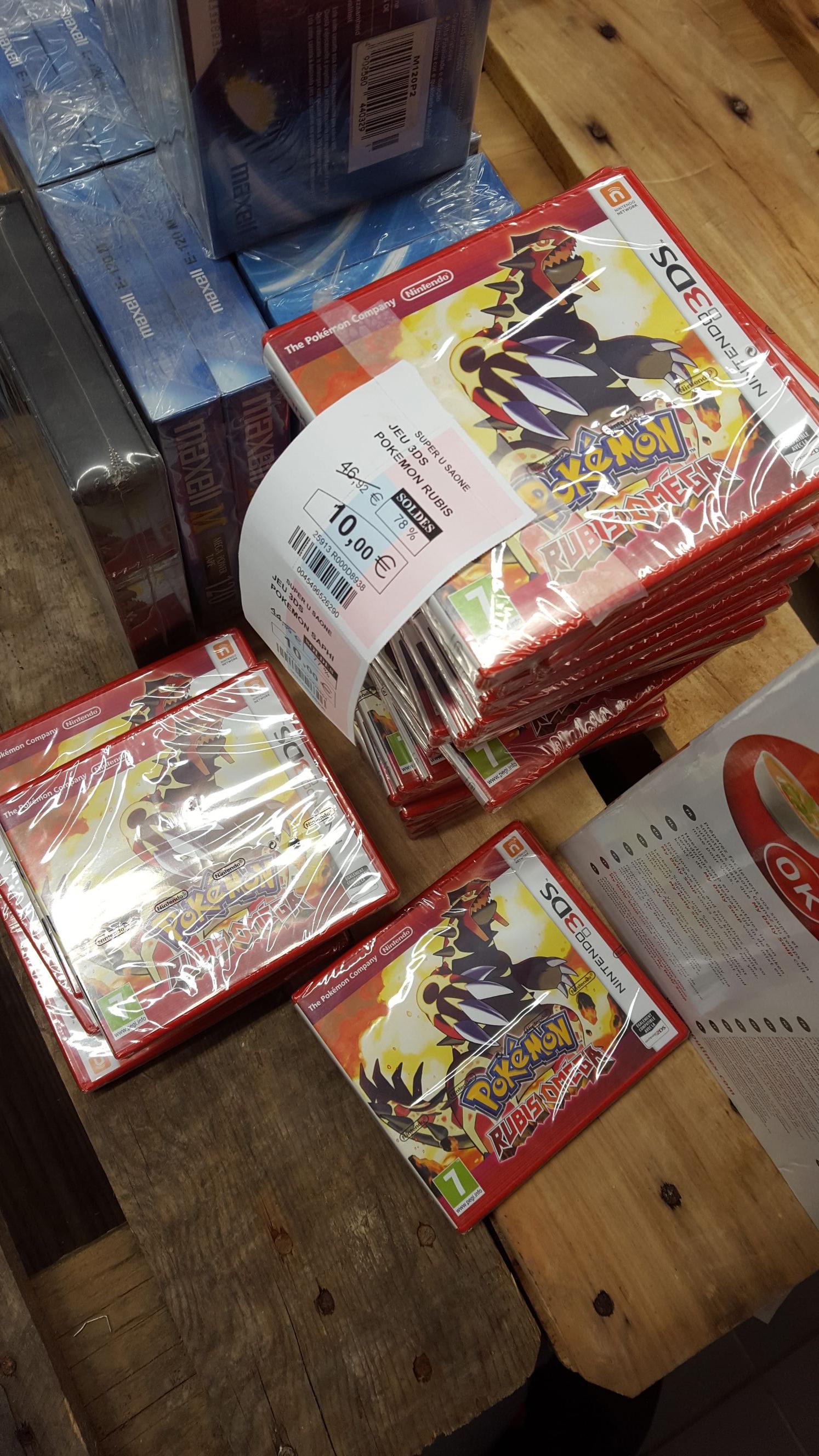Jeu Pokemon Rubis Omega sur Nintendo 3DS - Saône (25)