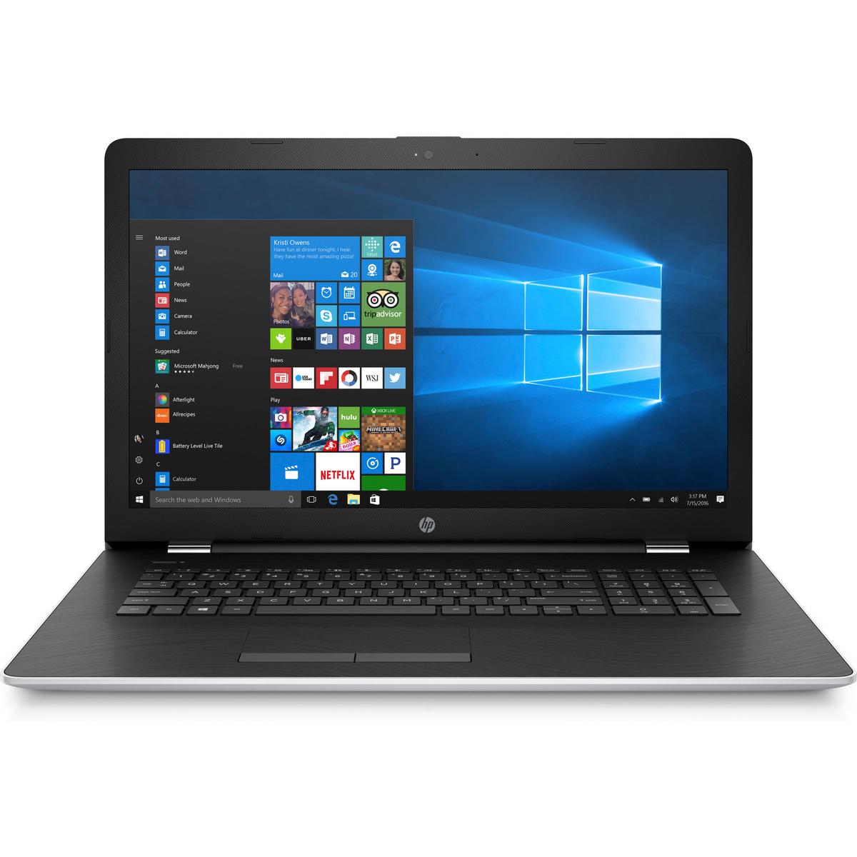 "PC Portable 17,3"" HP 17-ak036nf - AMD A9-9420, 1To de HDD, 4Go de RAM, Windows 10"