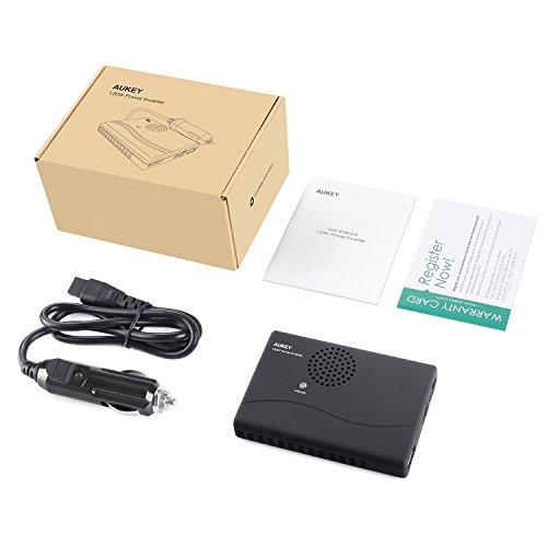Onduleur Aukey pour voiture - USB et prise secteur (vendeur tiers)