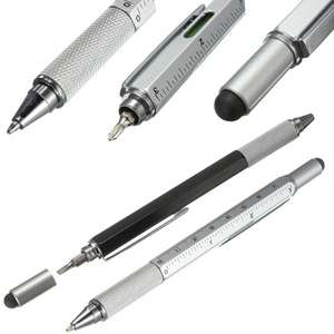 Stylo multi fonctions 6 en 1