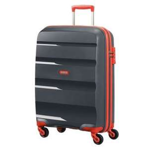 Valise American Tourister Bon Air Spinner Grise et Orange - 75cm, 91 L