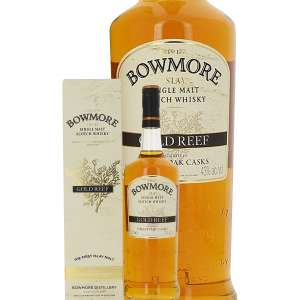 Whisky Bowmore Gold Reef 43% 1L