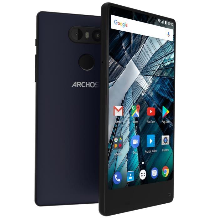 "Smartphone 5,5"" Archos Sense S55 - MT6737, 2Go de RAM, 16Go de ROM, Double Caméra"