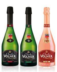 3 Bouteilles de Charles Volner (brut, rosé ou demi-sec)