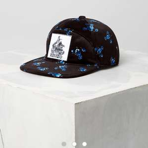 "Casquette en velours ""May Flowers"" Kenzo"