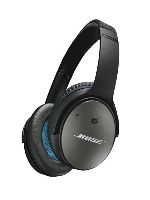 [Adhérents] Casque à réduction de bruit Bose QuietComfort 25 Noir - Apple