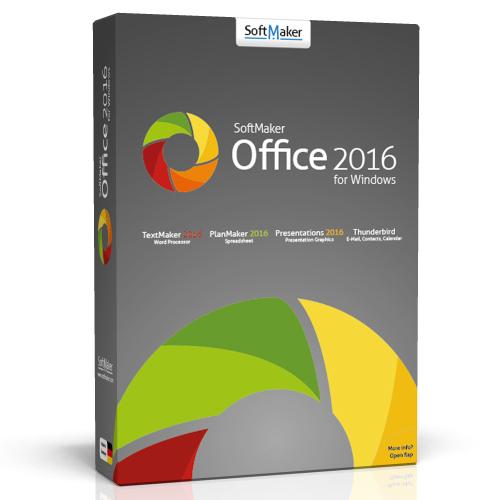 Suite bureautique SoftMaker Office 2016 gratuite