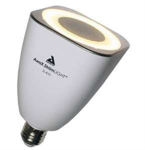 Ampoule LED musicale Awox Striimlight - 21W, E27, 3000K