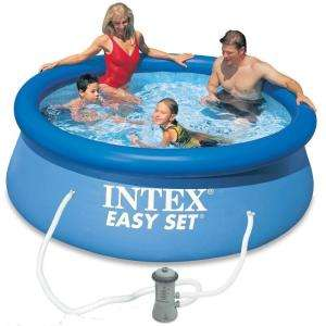 Piscine Ronde Autoportante Intex Easy Set avec Filtre à Cartouches - 244 x 76cm