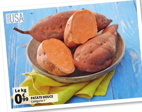 Patates douces - Origine USA - le kg
