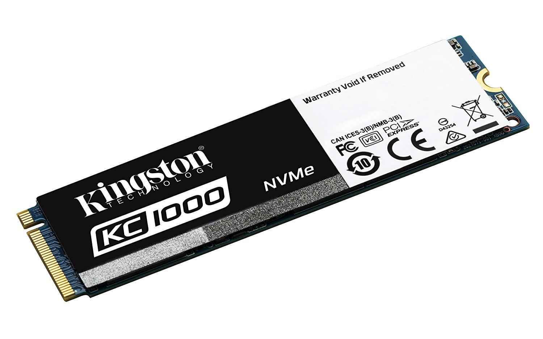 SSD interne M2 NVME Kingston KC1000 (MLC) - 960 Go