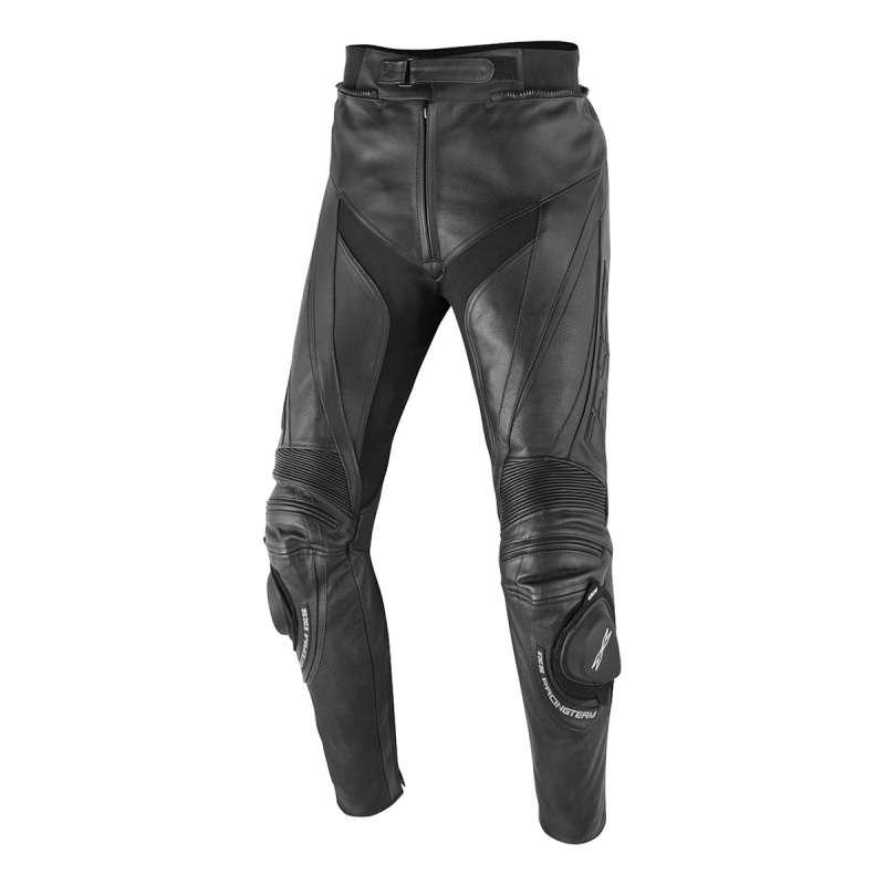 Pantalon moto cuir IXS Robin II - Noir