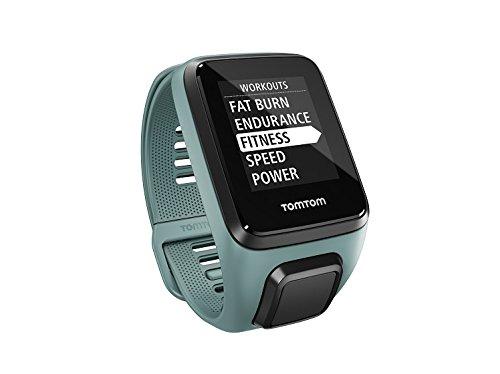 Montre connectée GPS TomTom Spark 3 Cardio - Taille S, Vert