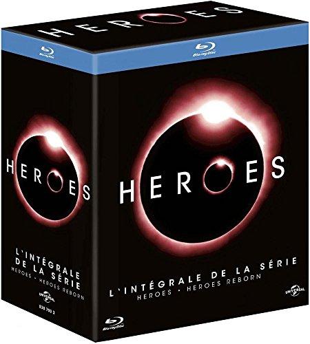 Coffret Blu-ray Heroes + Heroes Reborn - L'intégrale