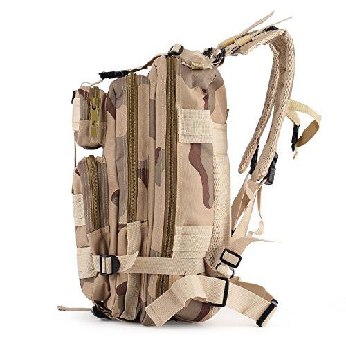 Sac à Dos Tactique Militaire Outad Imperméable - 24L (Vendeur tiers)