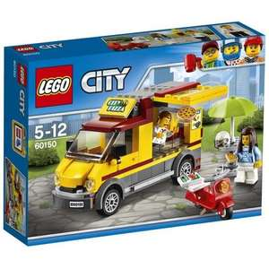 [Prime] Jeu de construction Lego City 60150 - Le Camion Pizza