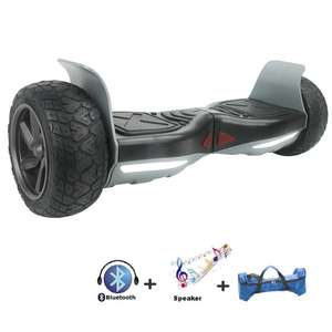 "Hoverboard tout terrain 8,5"" hummer, sac de transport, bluetooth"