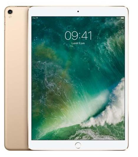 """[Adhérents] Tablette 10.5"""" Apple iPad Pro - 64 Go or (+80€ offerts sur le compte fidélité)"""