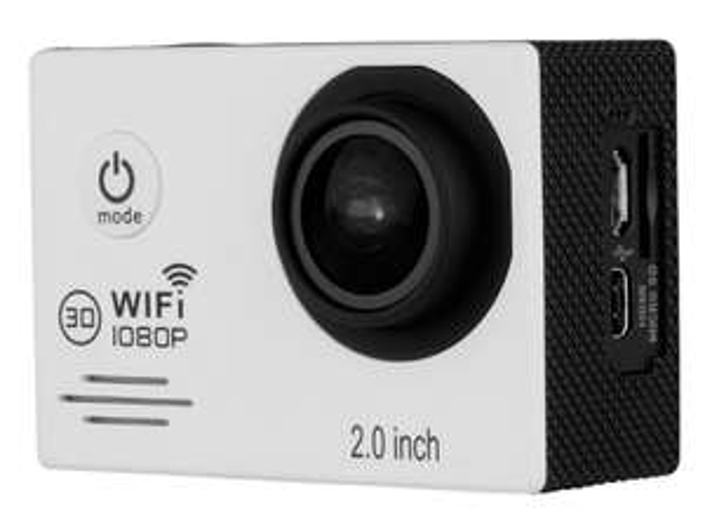 Caméra sportive 1080p Wifi