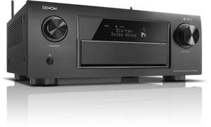 Denon AVR-X6300H (11.2 canaux, Dolby Atmos, WiFi, 11 x 205W, Noir) (Frontaliers Suisse)