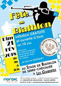 Initiation gratuite au Biathlon - Serre Chevalier (05)