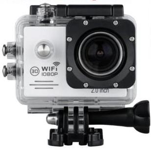 Caméra sportive 1080p