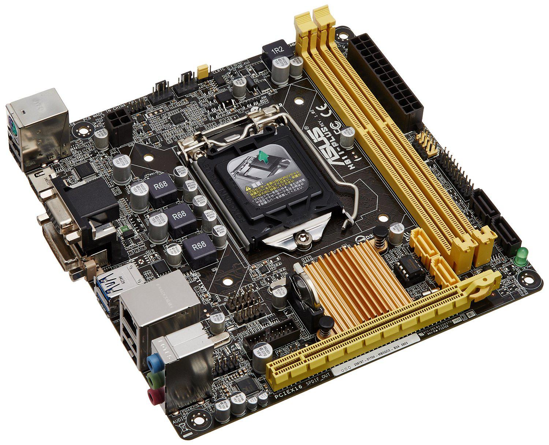 Carte mère Asus Intel Mini ITX Socket 1150 H81I-PLUS
