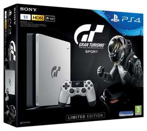 Pack console Sony PS4 Slim (1 To, Édition Limitée) + Gran Turismo: Sport (vendeur tiers)