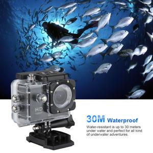 Caméra sportive (Wi-Fi, 1080p, 12 Mpix) + accessoires