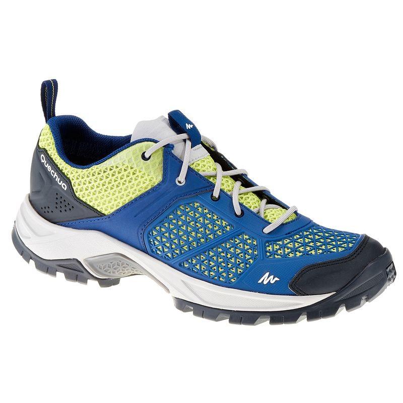 Chaussures de randonnée Quechua Forclaz 500 Fresh - bleu / vert (du 35 au 39)