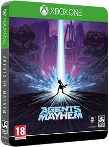 Agents of Mayhem sur PS4 à 13.99€ ou Édition Steelbook sur Xbox One à 14.99€