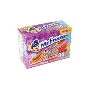 Glaces Mister Freeze classic party - 30x20ml - Auchan Drive Bretigny (91)