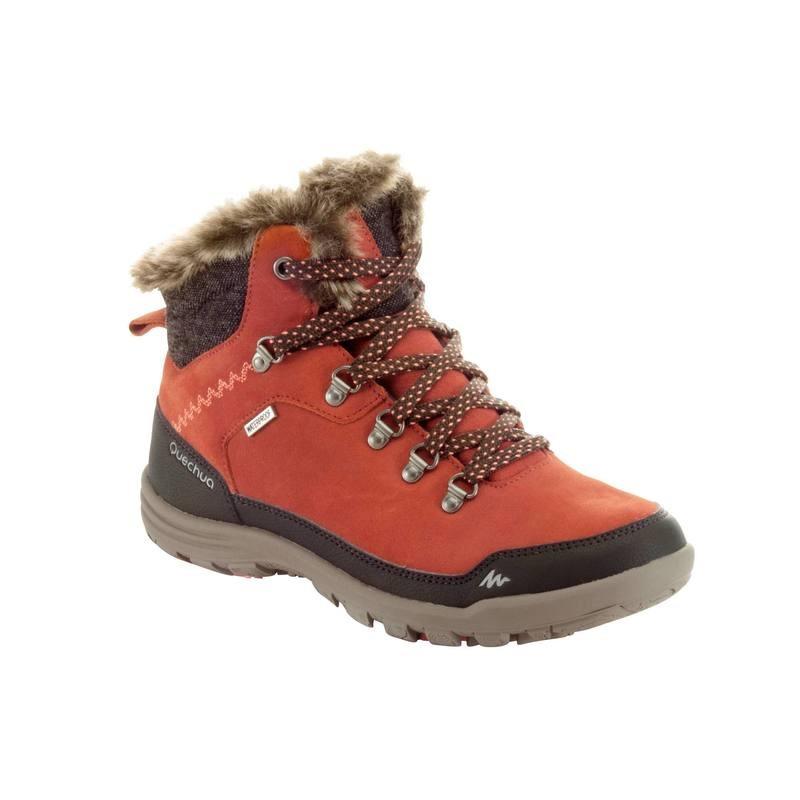 Chaussures de randonnée neige Femme Quechua SH500 - Orange