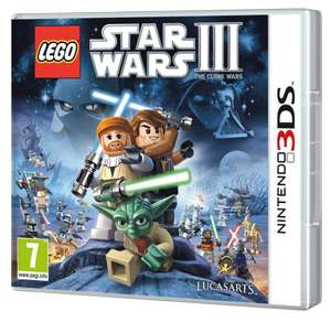 Lego Star Wars III : the Clone Wars sur nintendo 3DS