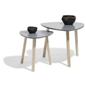 2 Tables Basses Style Scandinave