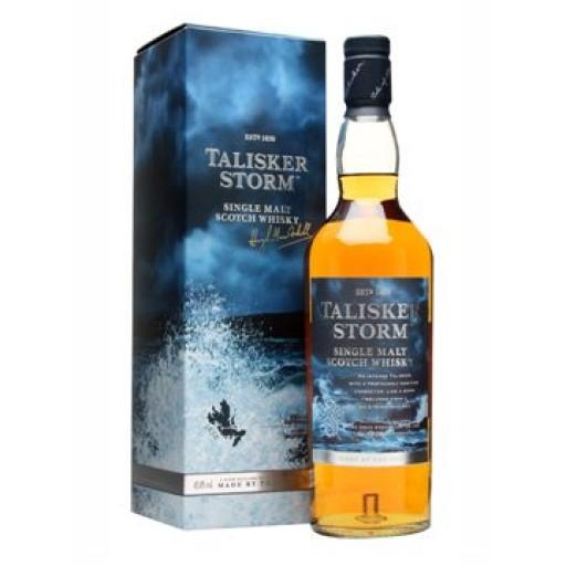 Bouteille de Whisky Talisker Storm 45,8° - 70 cl + Etui classique - Laxou (54)