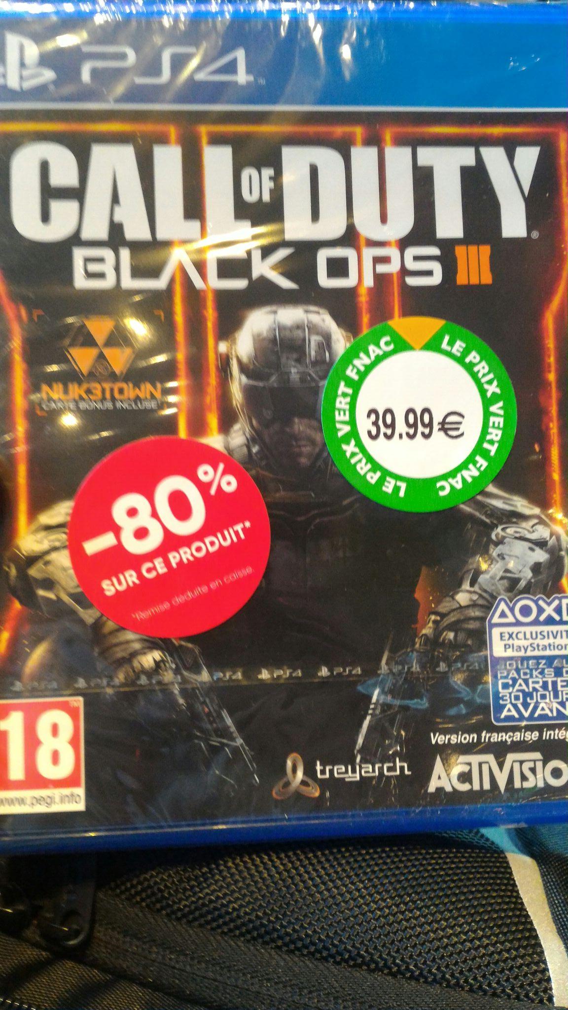 Call of Duty Black Ops 3 sur PS4 - Gare de l'Est (75)