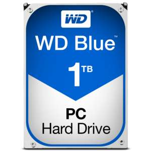 "Disque dur interne 3.5"" Western Digital WD Blue (5400 trs/min, 64 Mo) - 1 To à 34.90€ et 2 To à 54.90€"