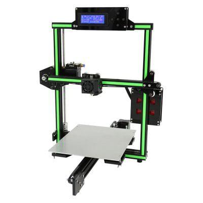 Imprimante 3D Anet E2 - en alliage d'aluminium, vert