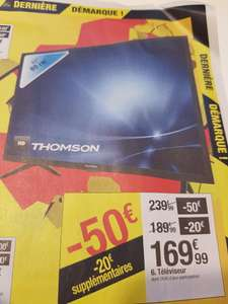 "TV 32"" Thomson - HD"