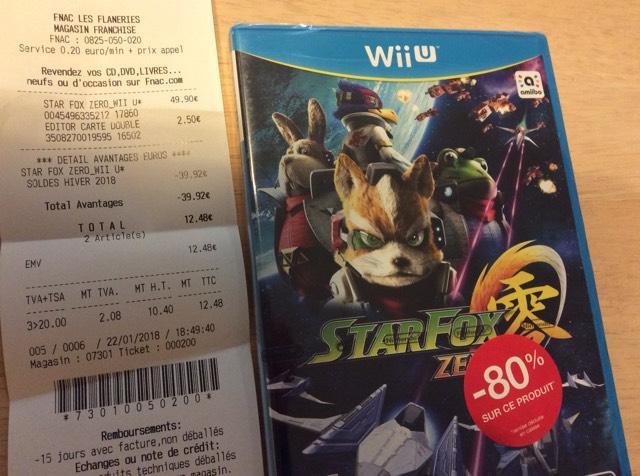 Jeu Starfox Zero sur Nintendo Wii U - Fnac La Roche sur Yon (85)