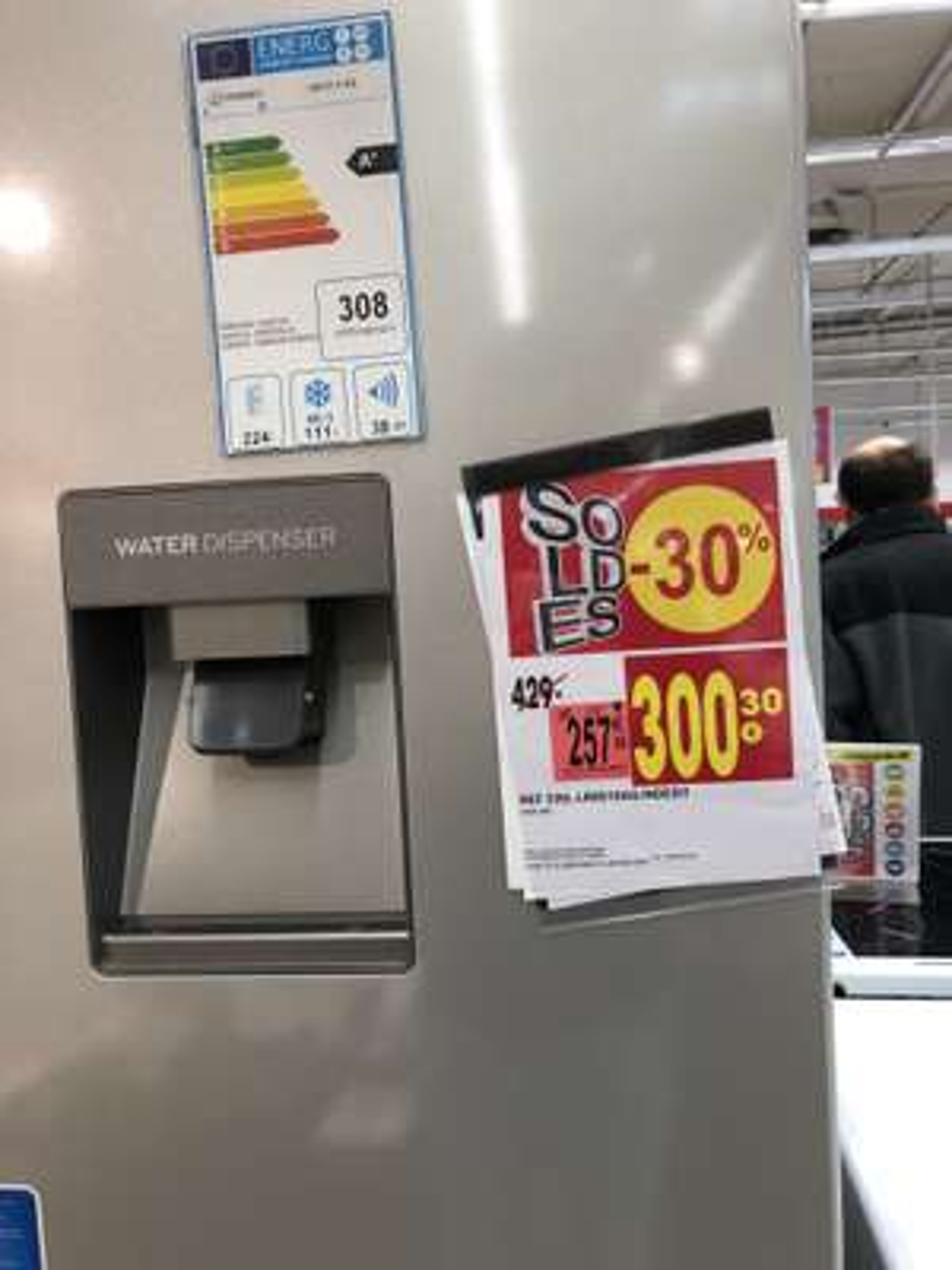 Réfrigérateur Indesit LR8S1SAQ, 335L - Espace Anjou (49)