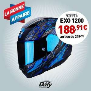 Casque moto Exo-1200 Air Solis Scorpion