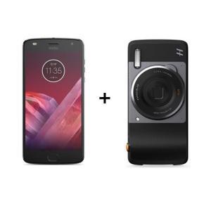 "Smartphone 5.5"" Motorola Moto Z2 Play (SnapDragon 626, 4 Go de RAM, 64 Go) + Moto Mods appareil photo Hasselblad 4116"