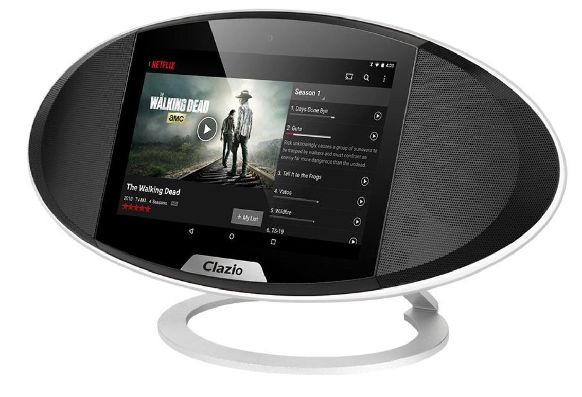 Enceinte avec écran Clazio compatible Google Home et Alexa (vendeur tiers)