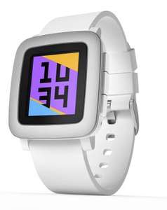 Montre connectée Pebble Time - Blanc