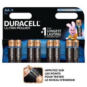 24 Piles Duracell LR6 Ultra Power