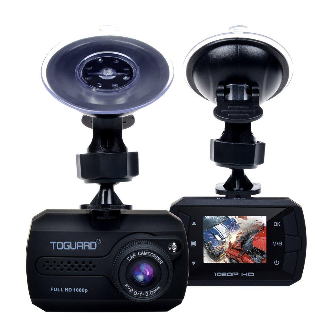 Mini Caméra Embarquée Grand Angle Toguard Dashcam CE680 pour Voitures - Full HD (Vendeur Tiers)