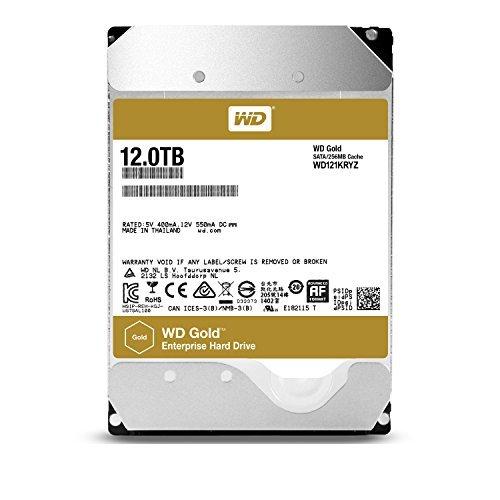 "Disque dur interne 3.5"" Western Digital WD121KRYZ  Gold - 12 To"