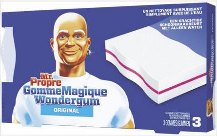 Lot Gratuit de 2 Paquets de Gomme Magique Mr Propre (via BDR + CN + Quoty)